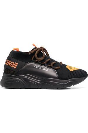 Roberto Cavalli Logo print sneakers