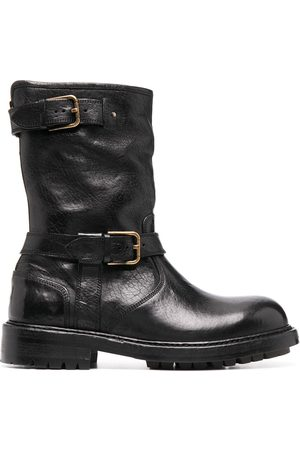 Dolce & Gabbana Men Biker Boots - Horseride biker-style boots