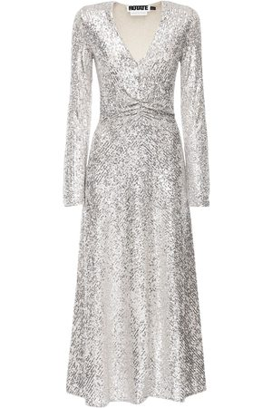 ROTATE Sierra Sequined Midi Dress