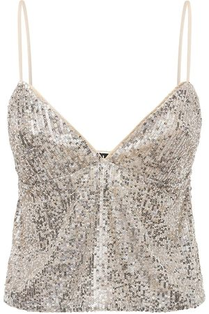 ROTATE Women Camisoles - Cindy Sequined Top