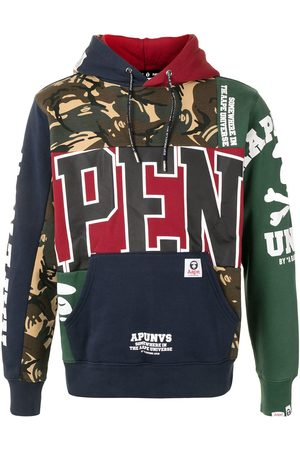 AAPE BY *A BATHING APE® Multi-panel design hoodie - Multicolour