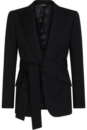Dolce & Gabbana Belted single-breasted blazer