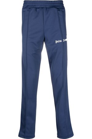 Palm Angels Side-stripe straight-leg track pants
