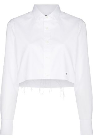 HommeGirls Women Long sleeves - Long-sleeve cropped shirt