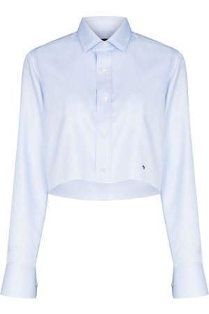 HommeGirls Long-sleeve cropped shirt