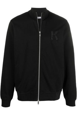 Karl Lagerfeld K embroidery track jacket