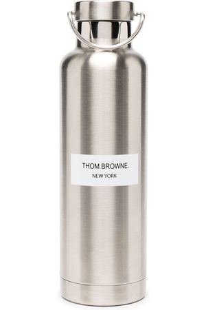 Thom Browne Sports Equipment - Stainless steel water bottle (700ml) - 035 MED GREY