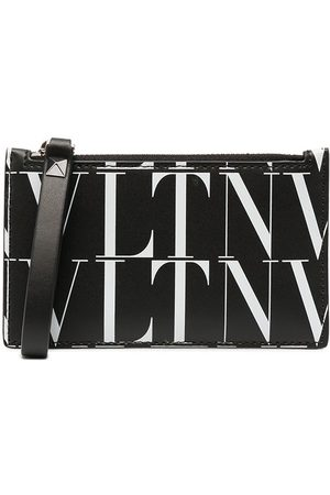 VALENTINO GARAVANI VLTN logo-print wallet