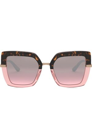 Dolce & Gabbana Two-tone square sunglasses
