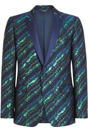Dolce & Gabbana Abstract-pattern single-breasted suit