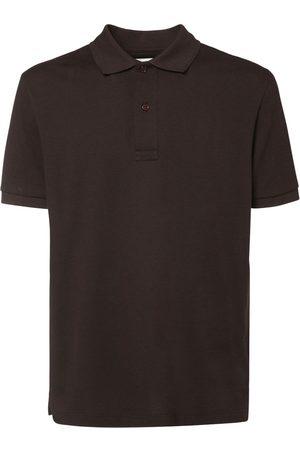 Bottega Veneta Men Polo Shirts - Cotton Piqué Polo