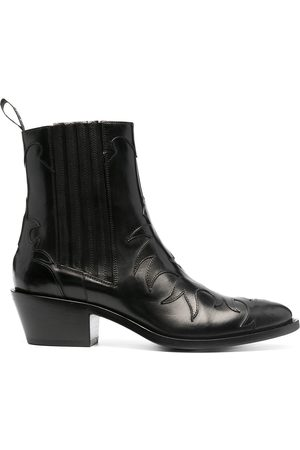 adidas Women Boots - Texan leather boots