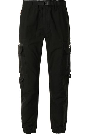 AAPE BY *A BATHING APE® Belted cargo cotton trousers