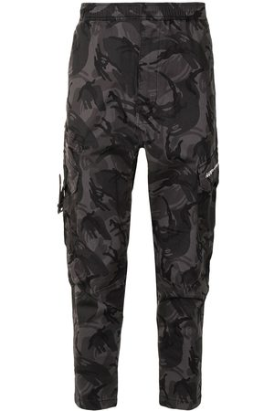 AAPE BY *A BATHING APE® Camouflage print cargo trousers