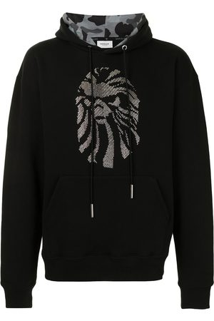 BAPE BLACK *A BATHING APE® Embellished logo hoodie