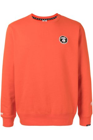 AAPE BY A BATHING APE Men Sweatshirts - Chest embroidered logo sweatshirt