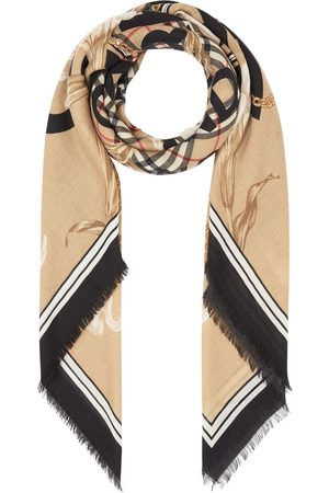 Burberry Scarves - Archive-print scarf