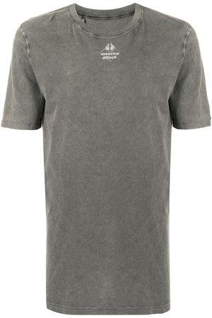 11 BY BORIS BIDJAN SABERI Graphic print T-shirt - Grey