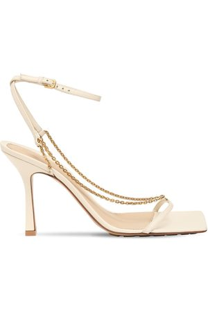 Bottega Veneta 90mm Leather Sandals