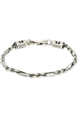 EMANUELE BICOCCHI Men Bracelets - Rope & Oval Link Chain Bracelet