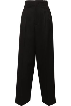 Bottega Veneta Grain De Poudre Wide Leg Pants