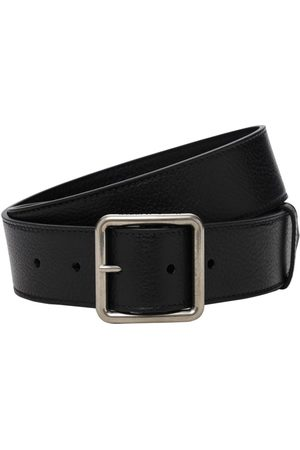 Alexander McQueen 4cm Leather Belt