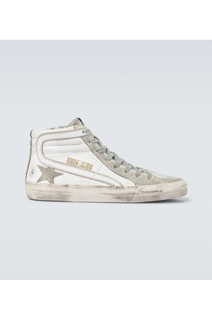 Golden Goose Slide Classic high-top sneakers