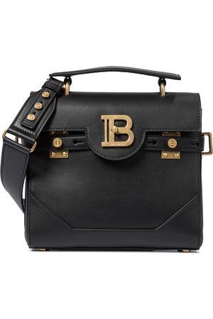 Balmain B-Buzz 23 leather shoulder bag