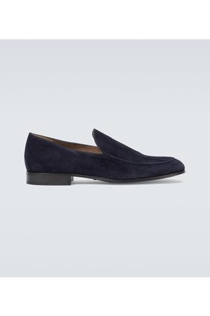 Gianvito Rossi Marcello suede loafers