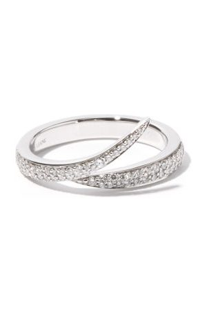 SHAUN LEANE Interlocking Diamond & 18kt - Ring - Mens