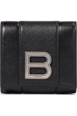 Balenciaga Hourglass leather wallet