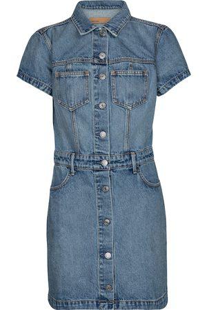 GRLFRND Macie cotton denim minidress