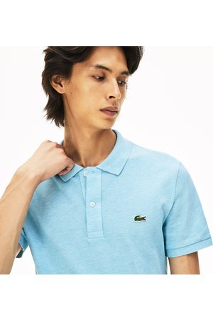 Lacoste Men's Slim Fit Polo In Petit Piqué :
