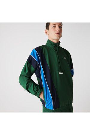 Lacoste Men's Sport Zip Neck Lightweight Water-resistant Jacket : / / /