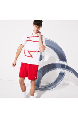 Lacoste Men's Sport Roland Garros X Novak Djokovic Polo Shirt : /