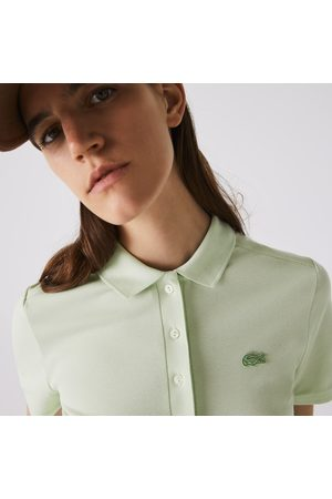 Lacoste Women's Stretch Cotton Piqué Polo Shirt :