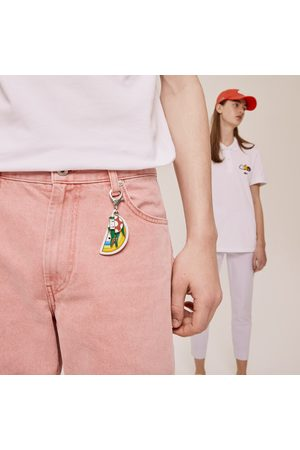 Lacoste Men's X Friendswithyou Coloured Metal Charm Keyring :