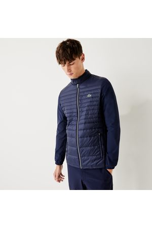 Lacoste Men's Sport Lightweight Water-resistant Quilted Golf Jacket :