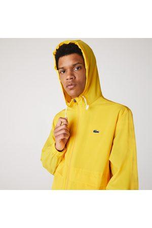 Lacoste Men's Sport Hooded Taffeta-lined Windbreaker : /