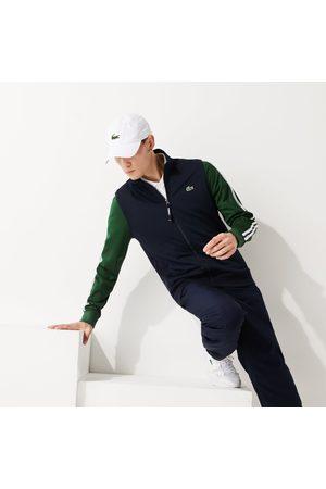 Lacoste Men's Sport Two-tone Technical Piqué Zip Sweatshirt : /