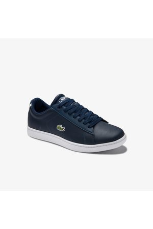 Lacoste Women's Carnaby Evo Mesh-lined Leather Sneakers :
