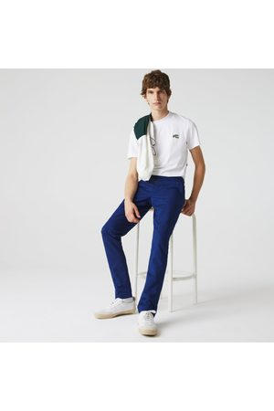 Lacoste Men's Cotton-linen Chinos :