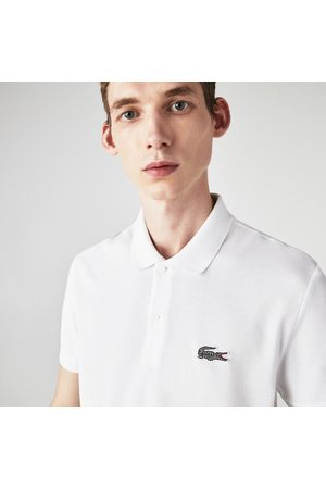 Lacoste Men's X National Geographic Regular Fit Organic Cotton Polo Shirt :