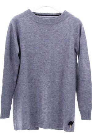Patrizia Pepe Crewneck Girls Grey viscose, nylon and wool