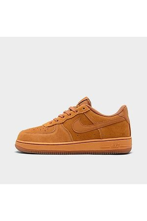 Nike Boys' Little Kids' Air Force 1 LV8 3 Casual Shoes in Size 1.0 Leather
