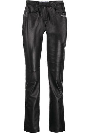 OFF-WHITE Women Skinny Pants - Polished-finish trousers
