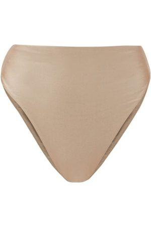 Jade Swim Incline High-rise Bikini Briefs - Womens - Light Grey