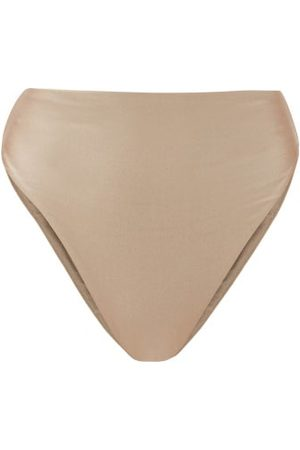 Jade Swim Women Bikinis - Incline High-rise Bikini Briefs - Womens - Light Grey