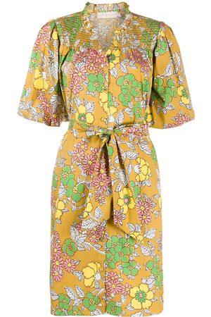 Tory Burch Floral print flared dress