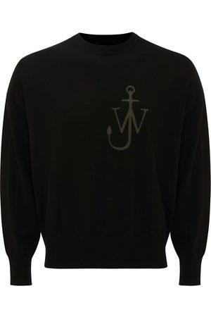 J.W.Anderson Men Sweatshirts - Crew neck Anchor motif jumper